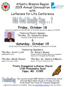 Convocation Flyer